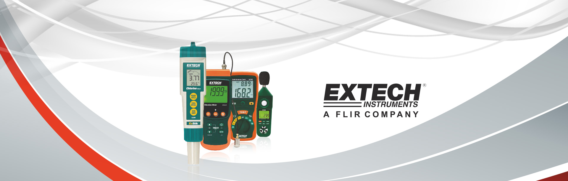 Extech Instruments like multimeter, anemometer are available at SGM India.