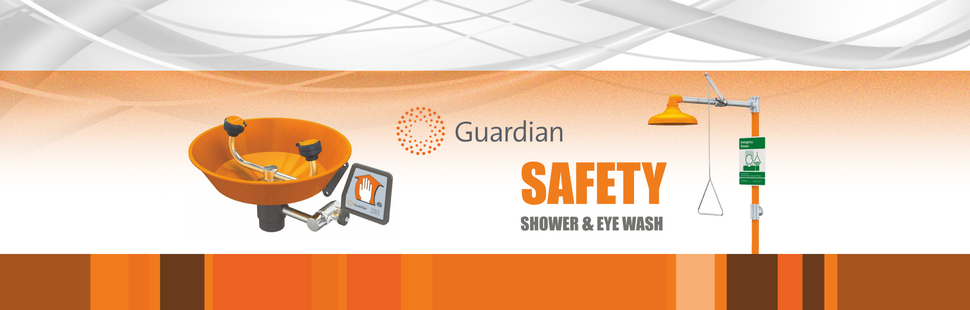SGM deals in Guardian safety shower & eye wash station.