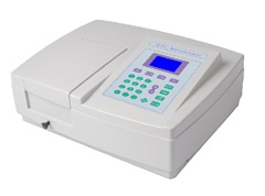 Single beam/Uv visible Spectrophotometer along with other type of Spectrophotometers is available.